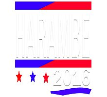 HARAMBE 2016 ELECTION DAY Photographic Print