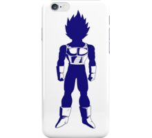 Warrior (blue) iPhone Case/Skin