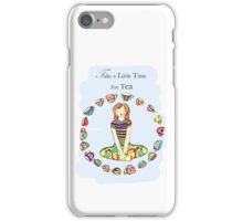 yoga girl - TEA iPhone Case/Skin