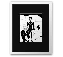 The Cabinet of Dr Caligari Framed Print