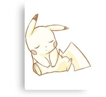 Sleepy Chu Metal Print