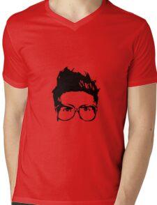 Joey Graceffa SIlhouette Head Mens V-Neck T-Shirt