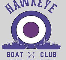 Hawkeye Boat Club by enzeraika