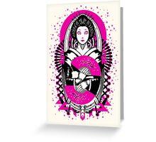 Geisha Droid Greeting Card