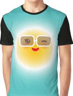 Happy Sun Graphic T-Shirt