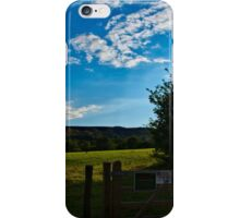 Countryside Summers Evening iPhone Case/Skin