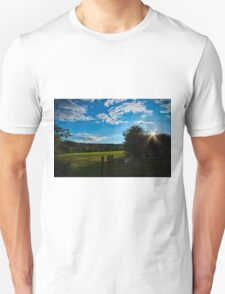 Countryside Summers Evening Unisex T-Shirt