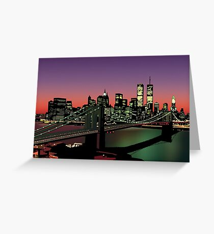 A Night on the Town Greeting Card