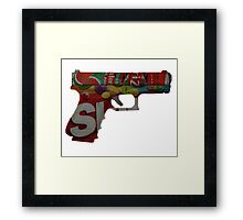 Armed and Dangerous Framed Print