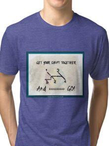 Get your VW shift Together Tri-blend T-Shirt