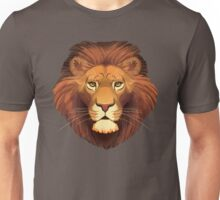 Lion Face Unisex T-Shirt
