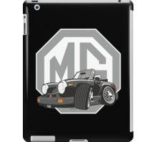 MG Midget 1500 black cartoon iPad Case/Skin