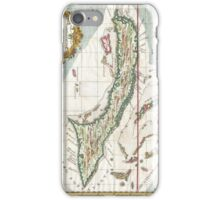 Vintage Map of Cuba and Jamaica (1763) iPhone Case/Skin