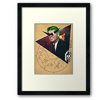 Star Kennedy. Framed Print