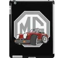 MG Midget 1500 dark red cartoon iPad Case/Skin