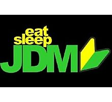 Eat. Sleep. JDM Photographic Print