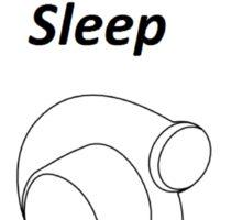 Eat Sleep Boost Sticker