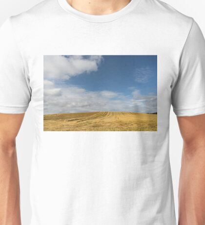 Rows of Straw -  Unisex T-Shirt