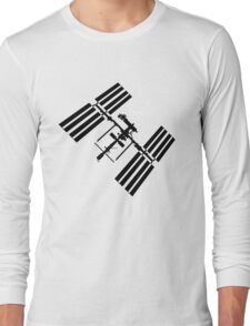 ISS (International Space Station) Silhouette Long Sleeve T-Shirt