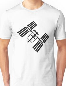 ISS (International Space Station) Silhouette Unisex T-Shirt