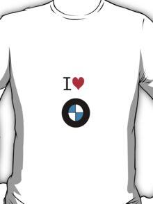 I love BMW T-Shirt