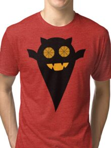 Boo Halloween Bat Tri-blend T-Shirt