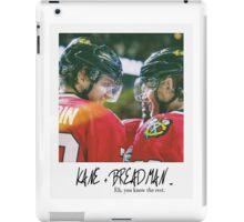 KANE + BREADMAN ... Artemi Panarin and Patrick Kane iPad Case/Skin