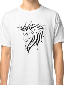 Jesus Wearing Thorn Crown Classic T-Shirt