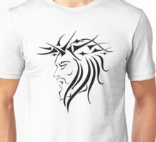 Jesus Wearing Thorn Crown Unisex T-Shirt