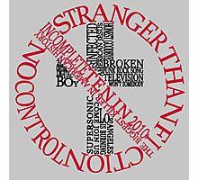 Bad Religion Typography Photographic Print
