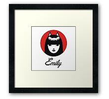 It's for all Emily across the globe! Framed Print