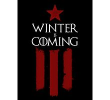 Winter (Soldier) Is Coming v.1 Photographic Print