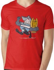 Sharks! Mens V-Neck T-Shirt