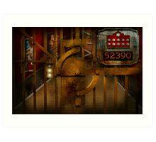 Steampunk - Dystopia - The Vault Art Print