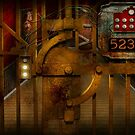 Steampunk - Dystopia - The Vault by Mike  Savad
