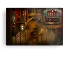 Steampunk - Dystopia - The Vault Metal Print