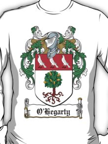 O'Hegarty Coat of Arms (Donegal) T-Shirt