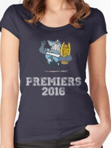 Sharks Premiers 2016 Women's Fitted Scoop T-Shirt