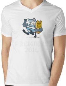 Sharks Premiers 2016 Mens V-Neck T-Shirt