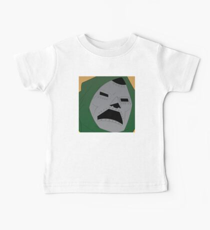 Dr. Doom Halftone Baby Tee
