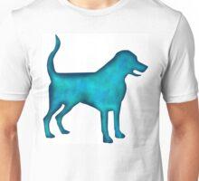 Labrado Retriever Watercolor Silhouette Unisex T-Shirt