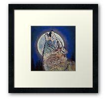 Howling Wolf Framed Print