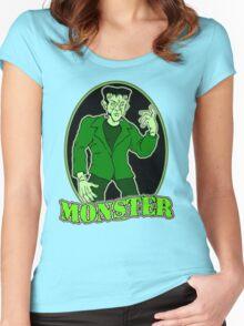 Frankenstein Monster Women's Fitted Scoop T-Shirt