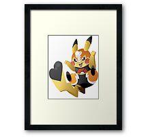 Pikachu Libre! Framed Print