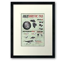 [SF MOVIES!] Jurassic Park Framed Print
