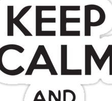 Keep Calm And Walk It Off Sticker