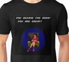 Blaze Became the Boss Unisex T-Shirt