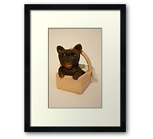 Toto- Wizard of OZ Framed Print