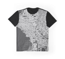 Seattle, Wireframe Graphic T-Shirt