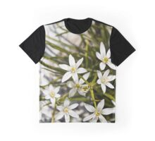 white flowers bloom  Graphic T-Shirt